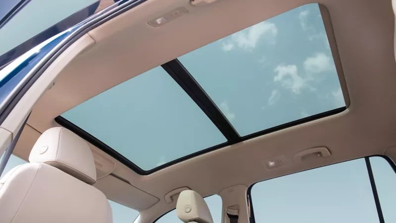 VW teramont sunroof