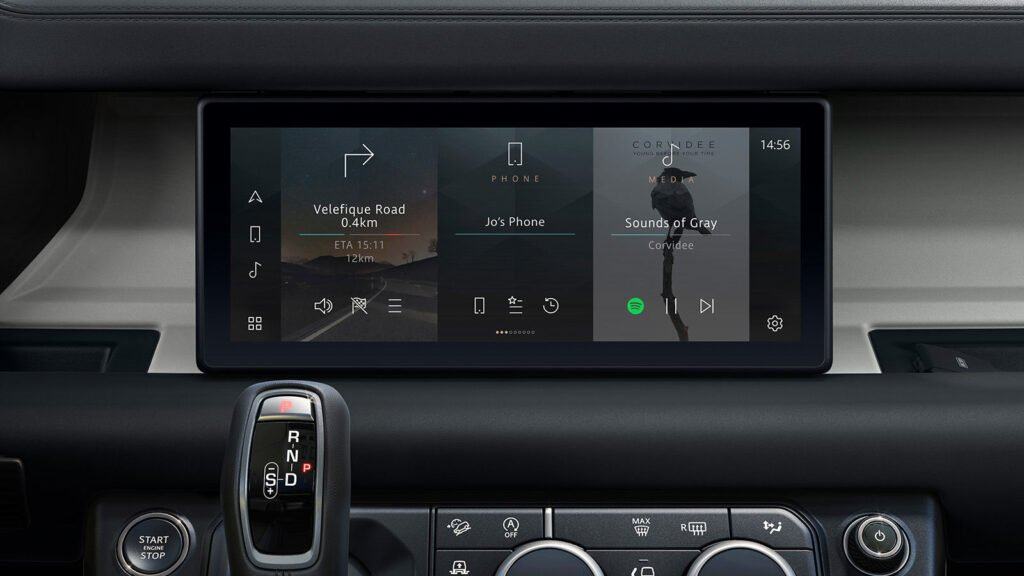 Land Rover Defender Infotainment