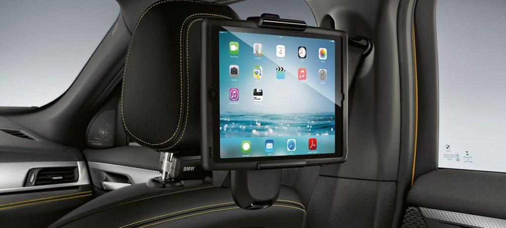 BMW X2 Rear Seat Infotainment