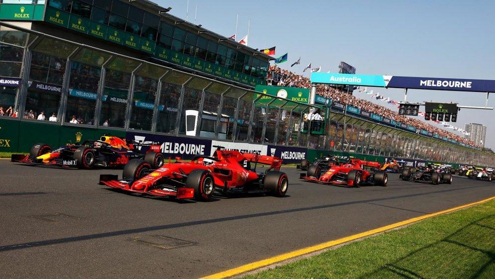 2021 F1 schedule