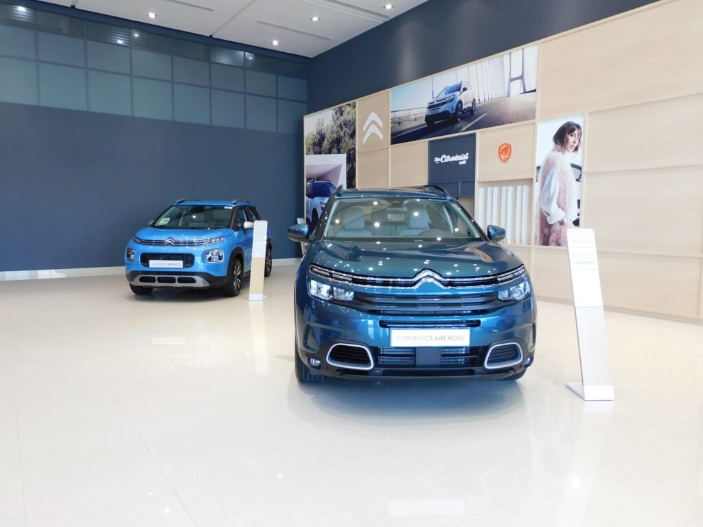 Citroen Showroom Dubai