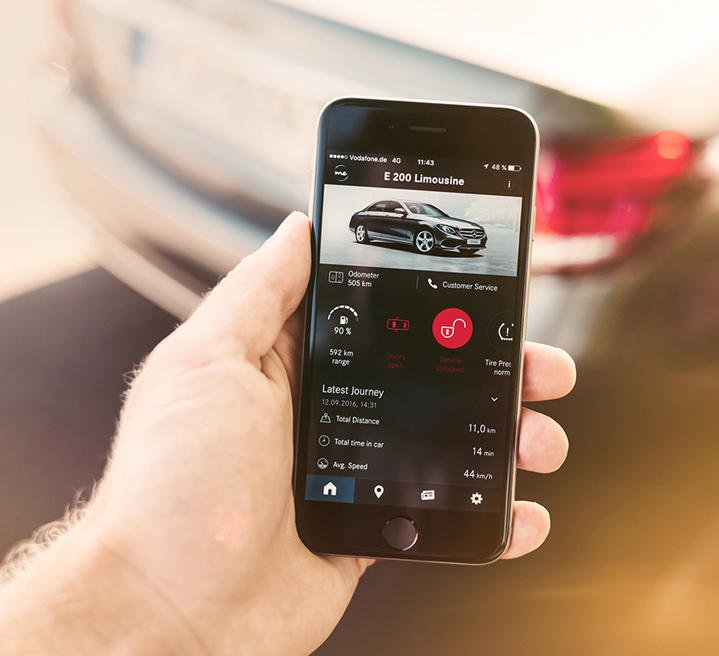 The Mercedes me app at a glance | AutoDrift.ae