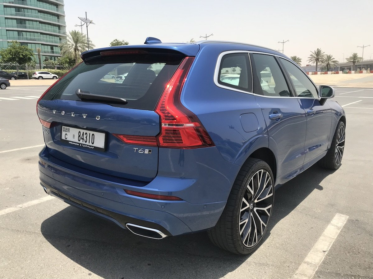 Volvo XC60 Rear Angles