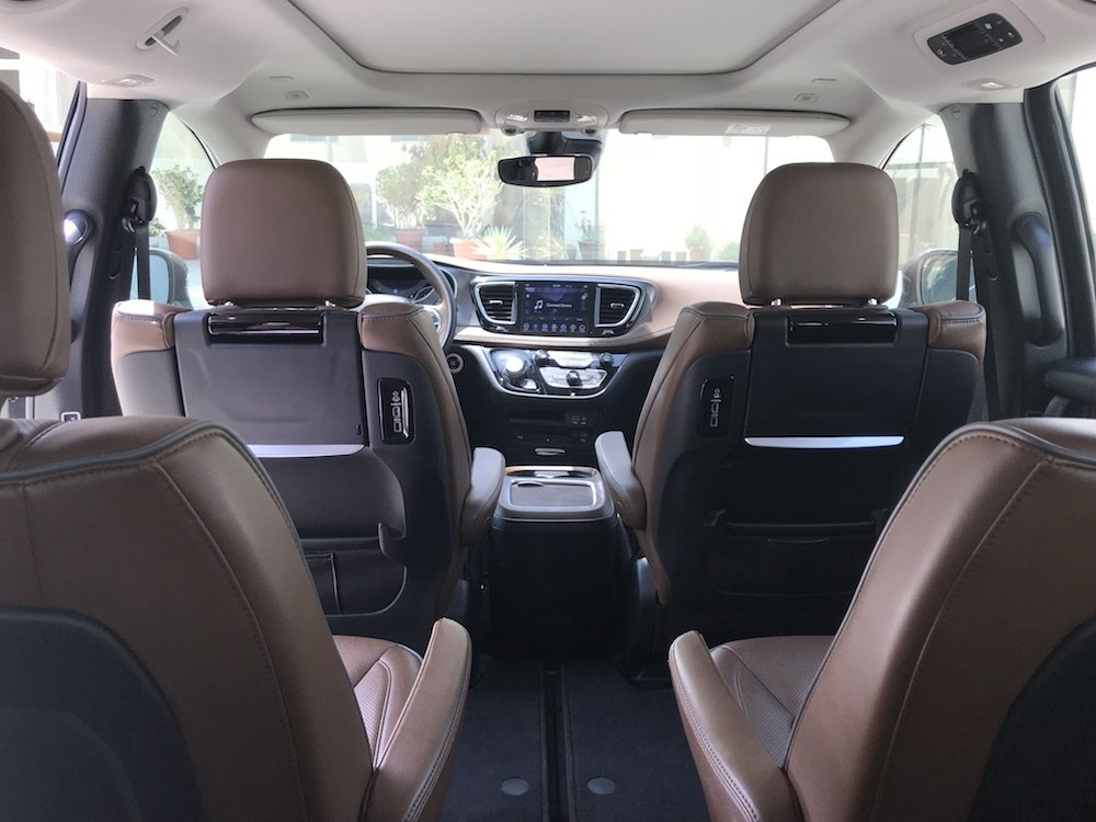 Chrysler Pacifica Seating