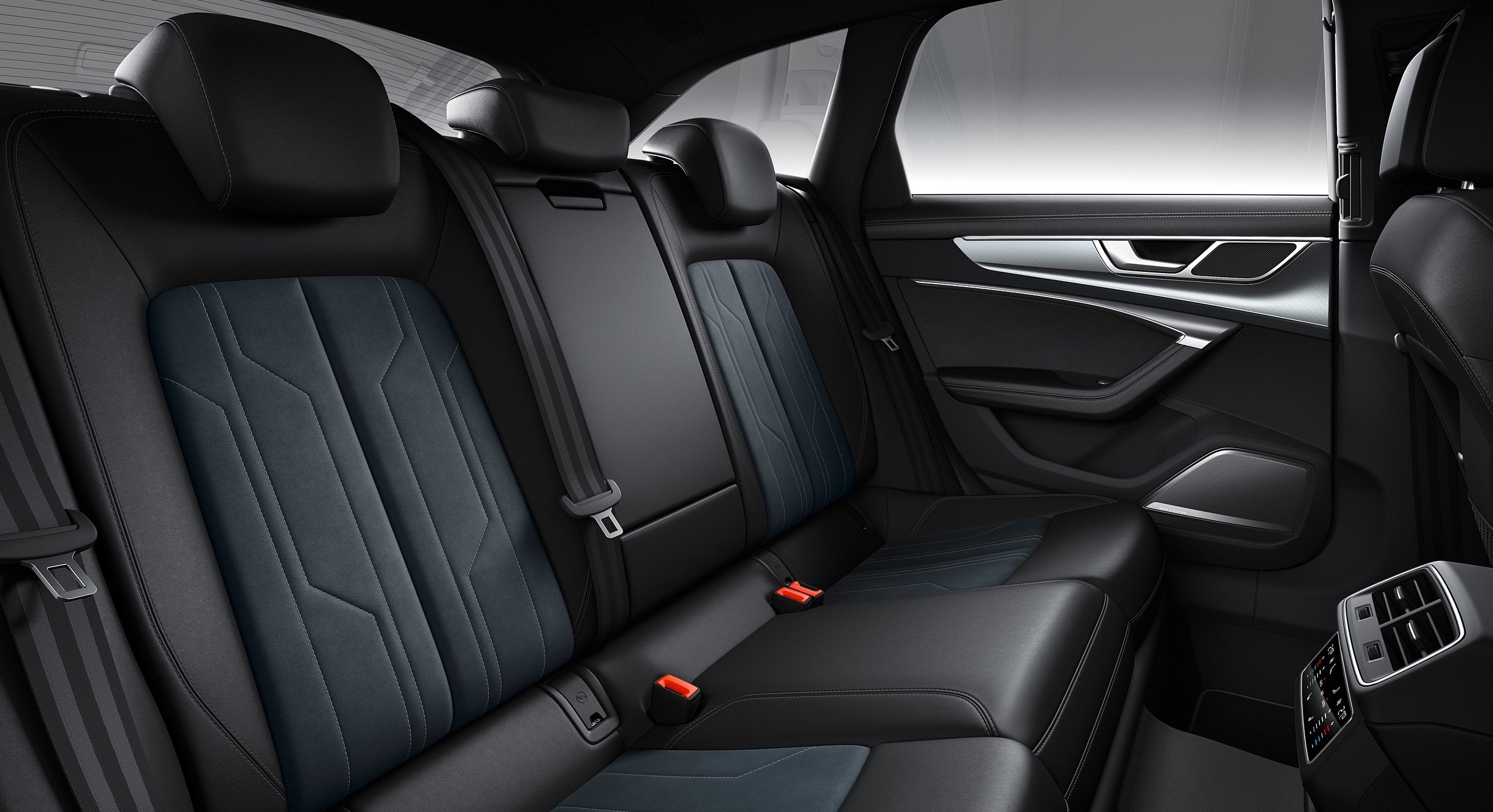 audiA6 2020 rear seating