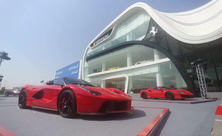 Al Tayer Inaugurates Largest Ferrari Showroom in Dubai