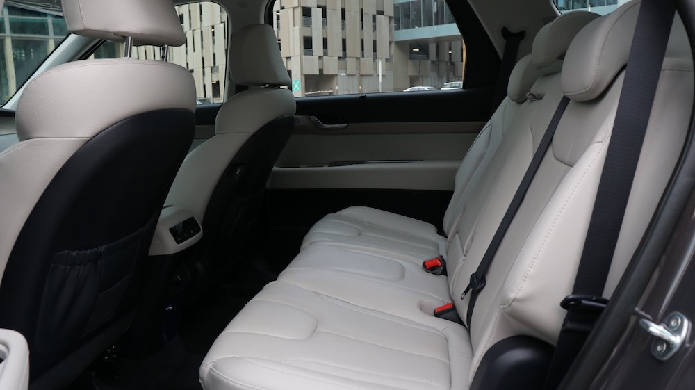 Palisade Rear Seating
