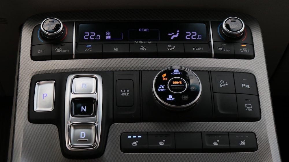 2020 Hyundai Palisade gear console