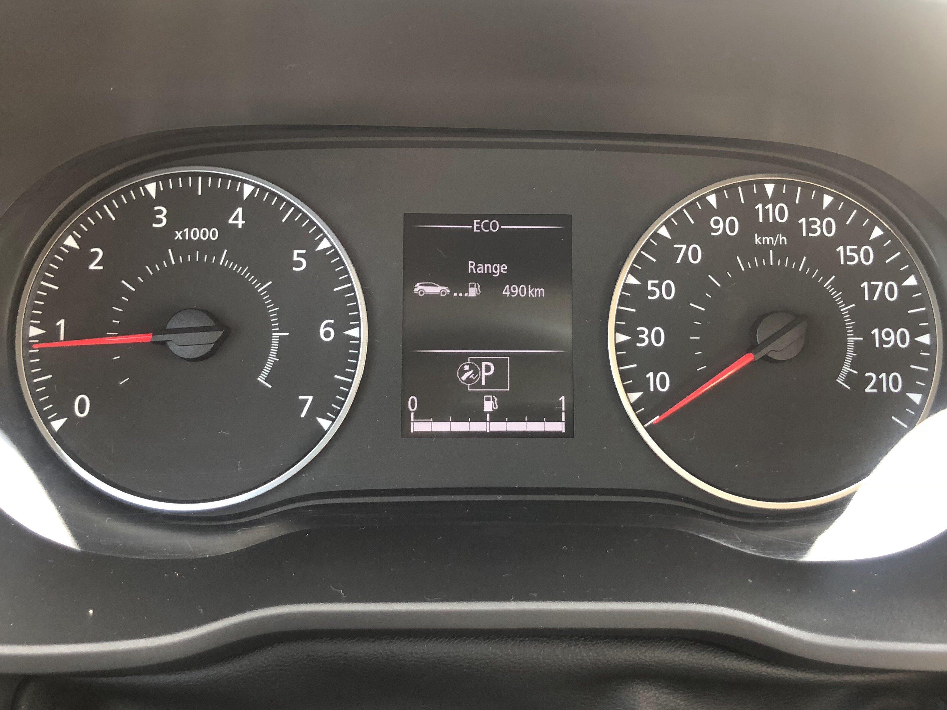 Renault Duster Speedometer