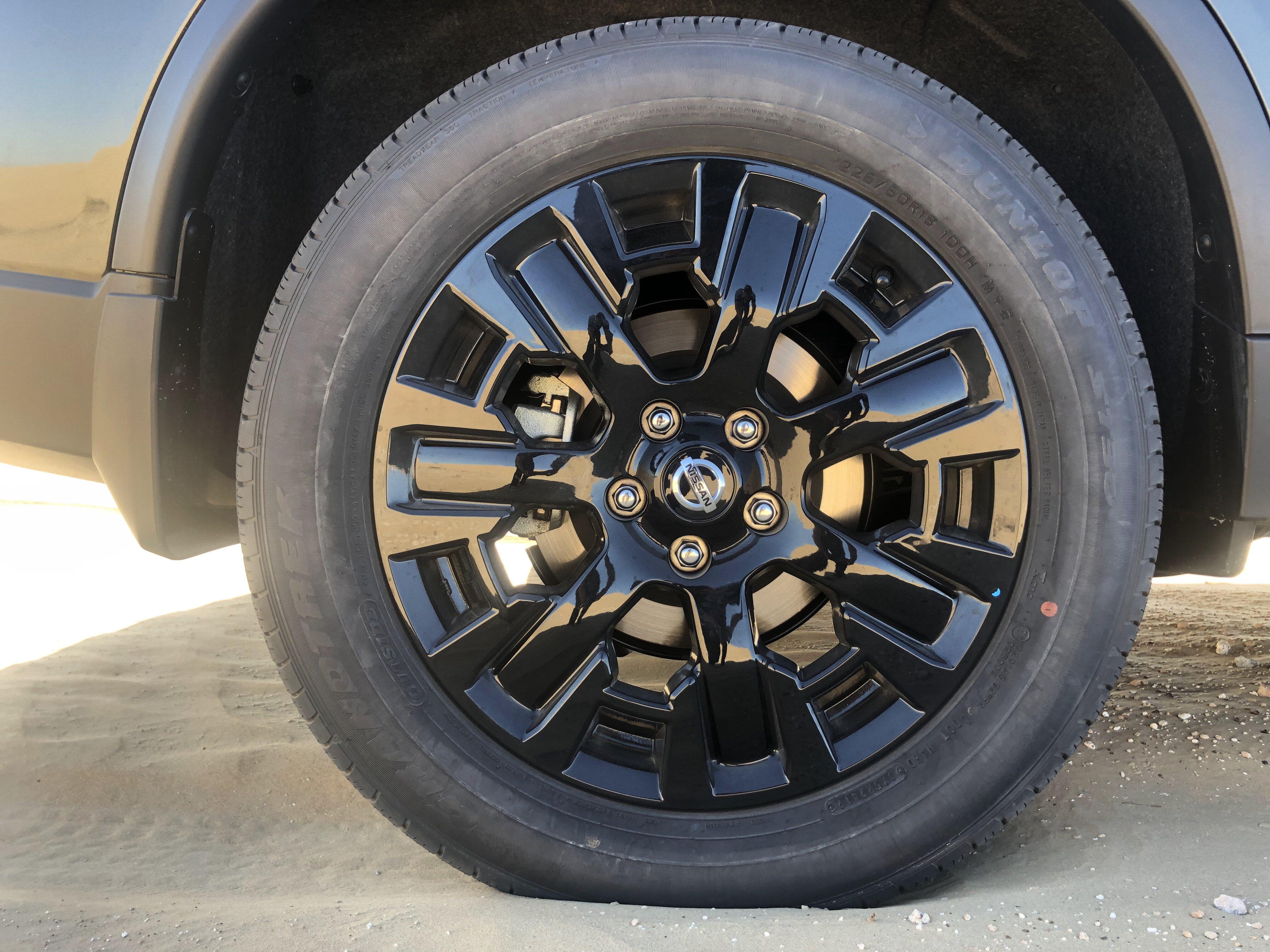 Nissan X-TREMER 2020 wheels
