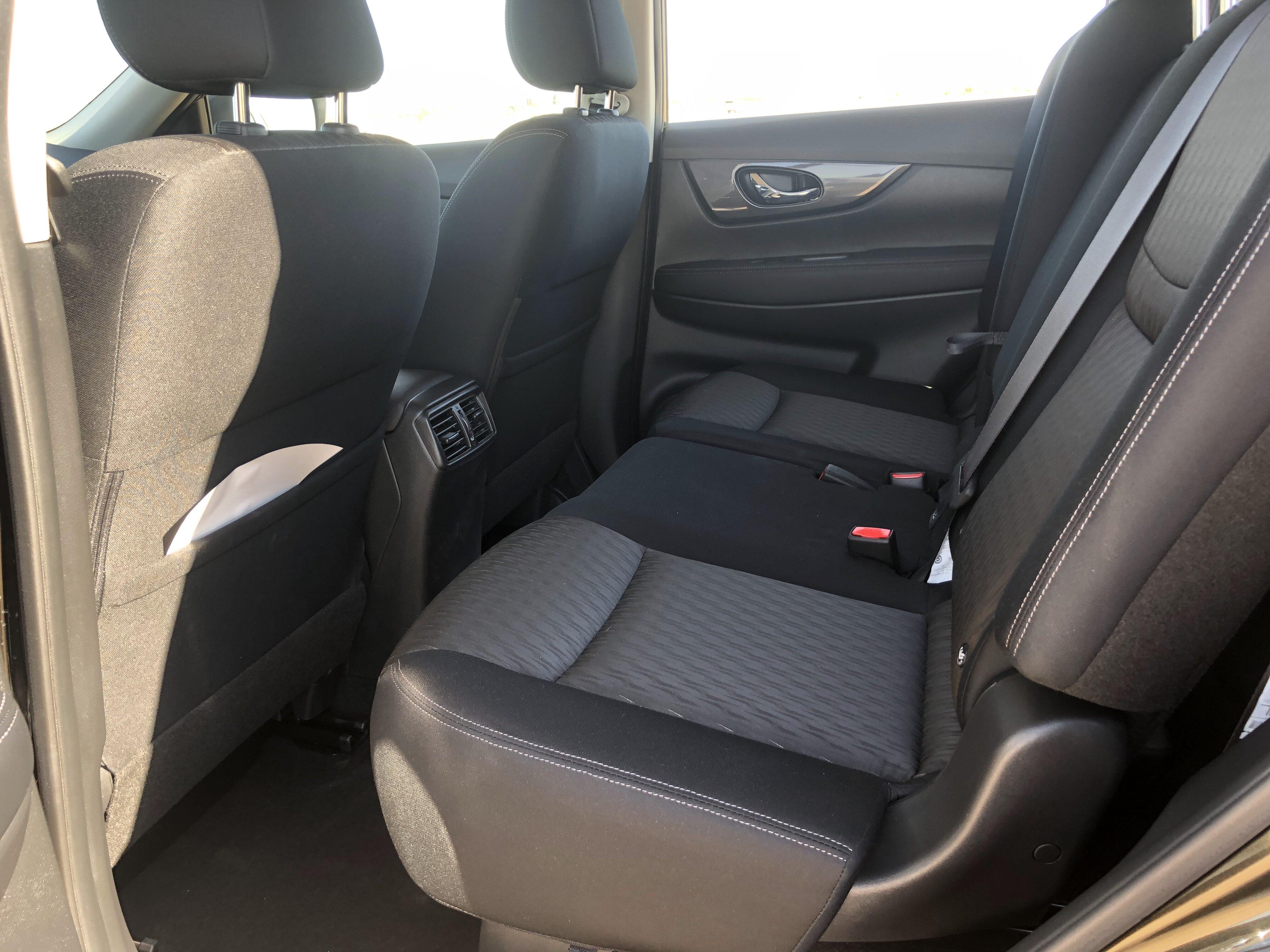 rear passenger seats Nissan X-TREMER 2020