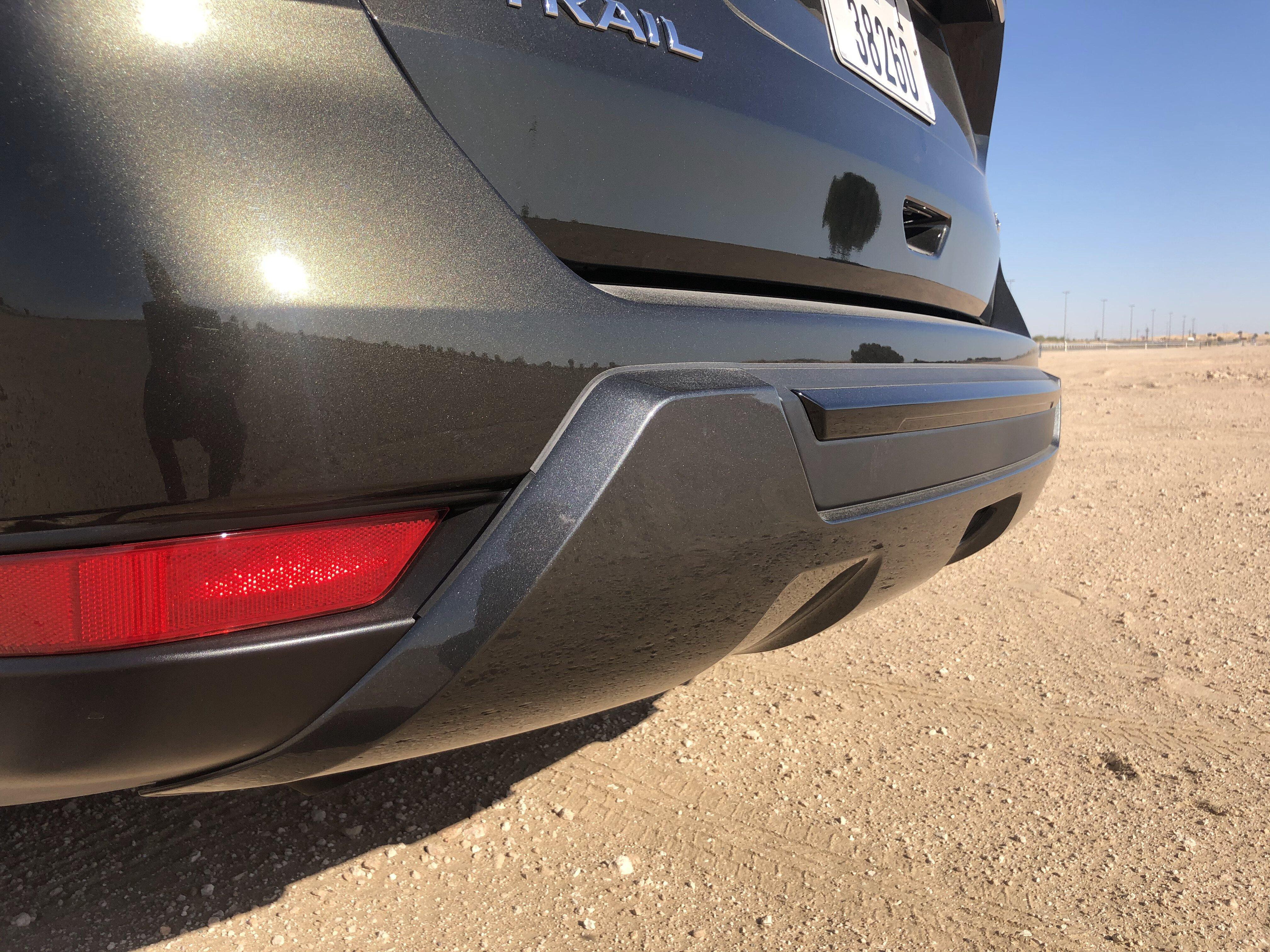 Nissan X-TREMER 2020 rear bumper