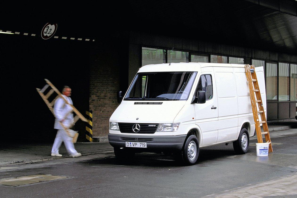 25 Jahre Mercedes-Benz Sprinter: der Champion seiner Klasse25 years of Mercedes-Benz Sprinter: The champion of its class