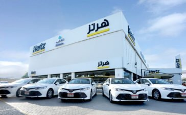 Hertiz UAE Hybrid Electric Fleet