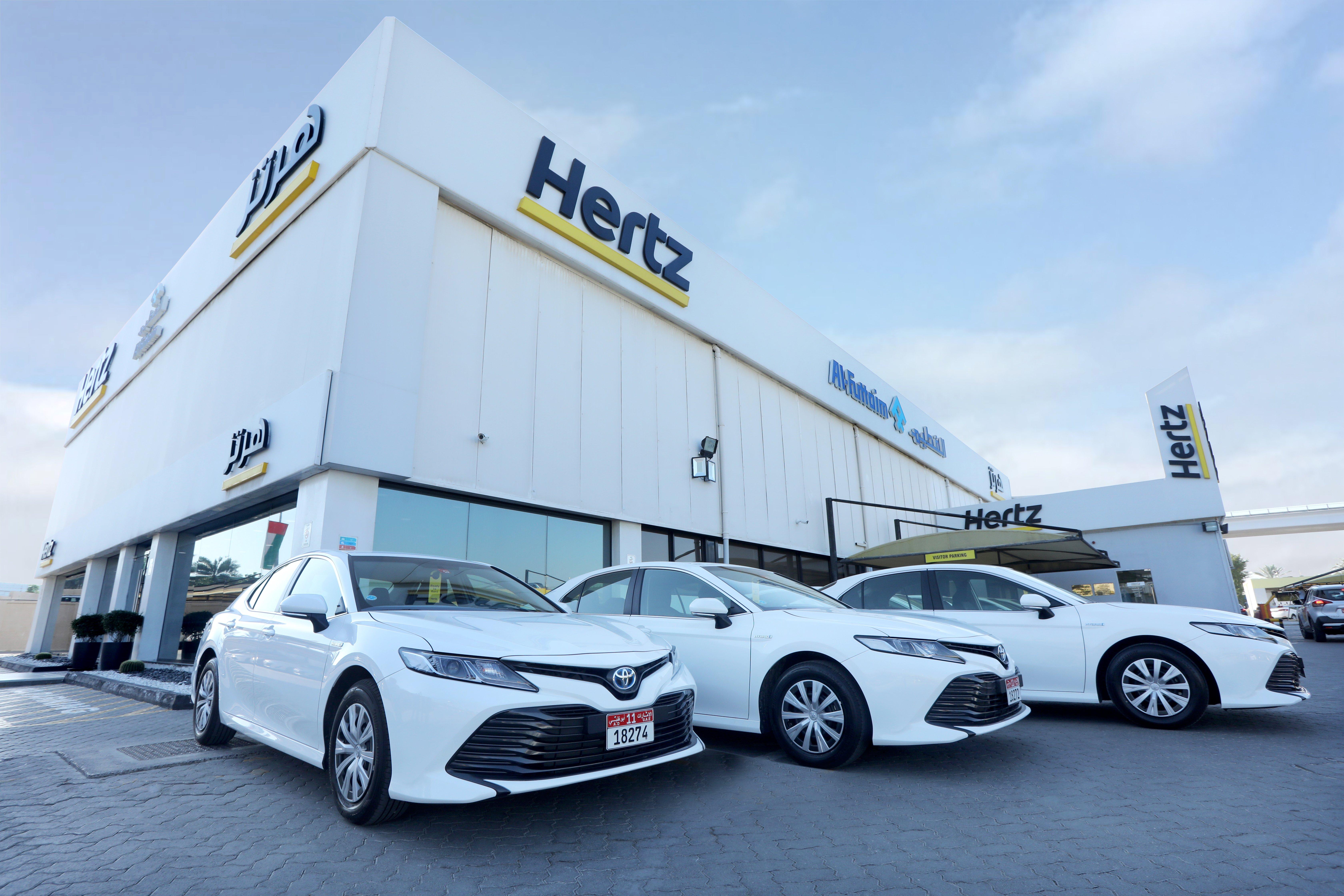 Hertiz UAE Hybrid Electric Fleet
