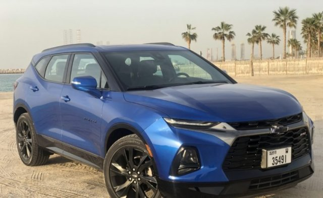 2020 Chevrolet Blazer Review Specs And Price In Uae Autodrift Ae