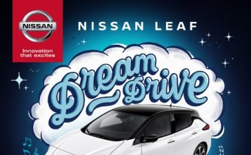 Nissan LEAF Dream Drive world's first zero-emission lullaby