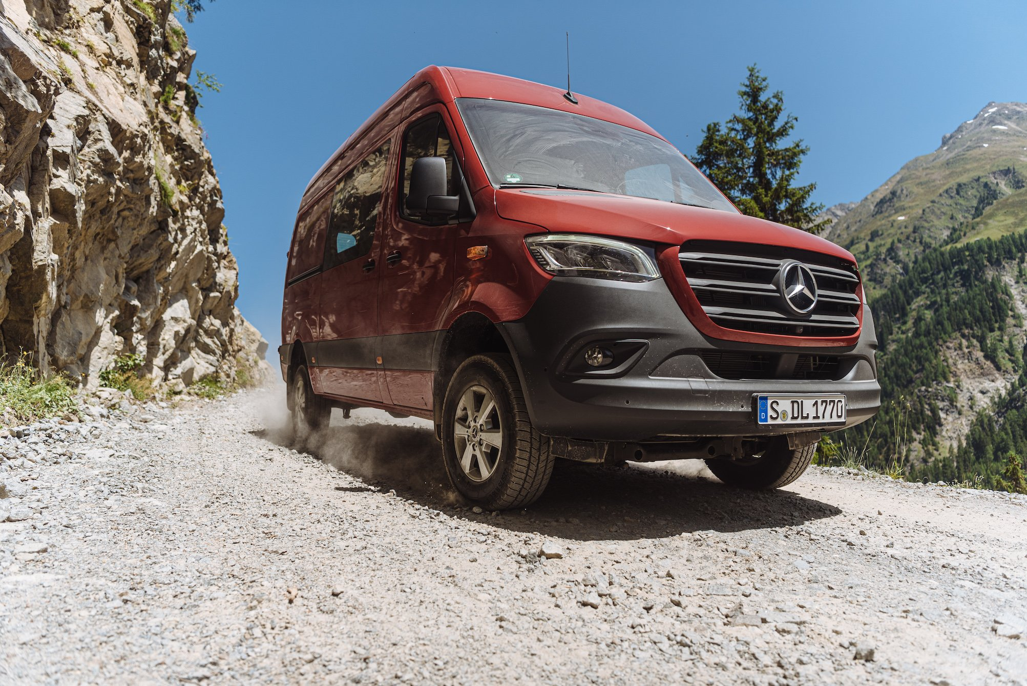 2019 / The new Sprinter 4x4 / Image / Summer