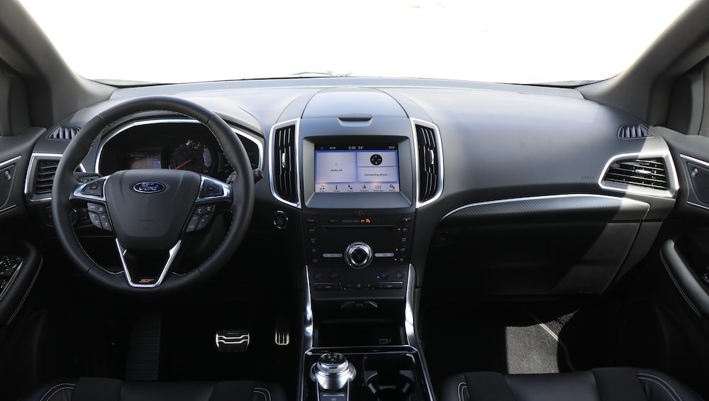 2020 Ford Edge ST Dashboard