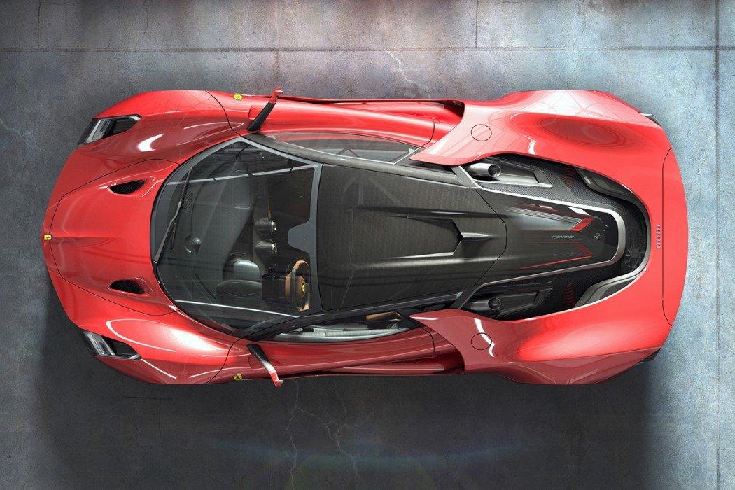 Ferrari Stallone which means Stallion