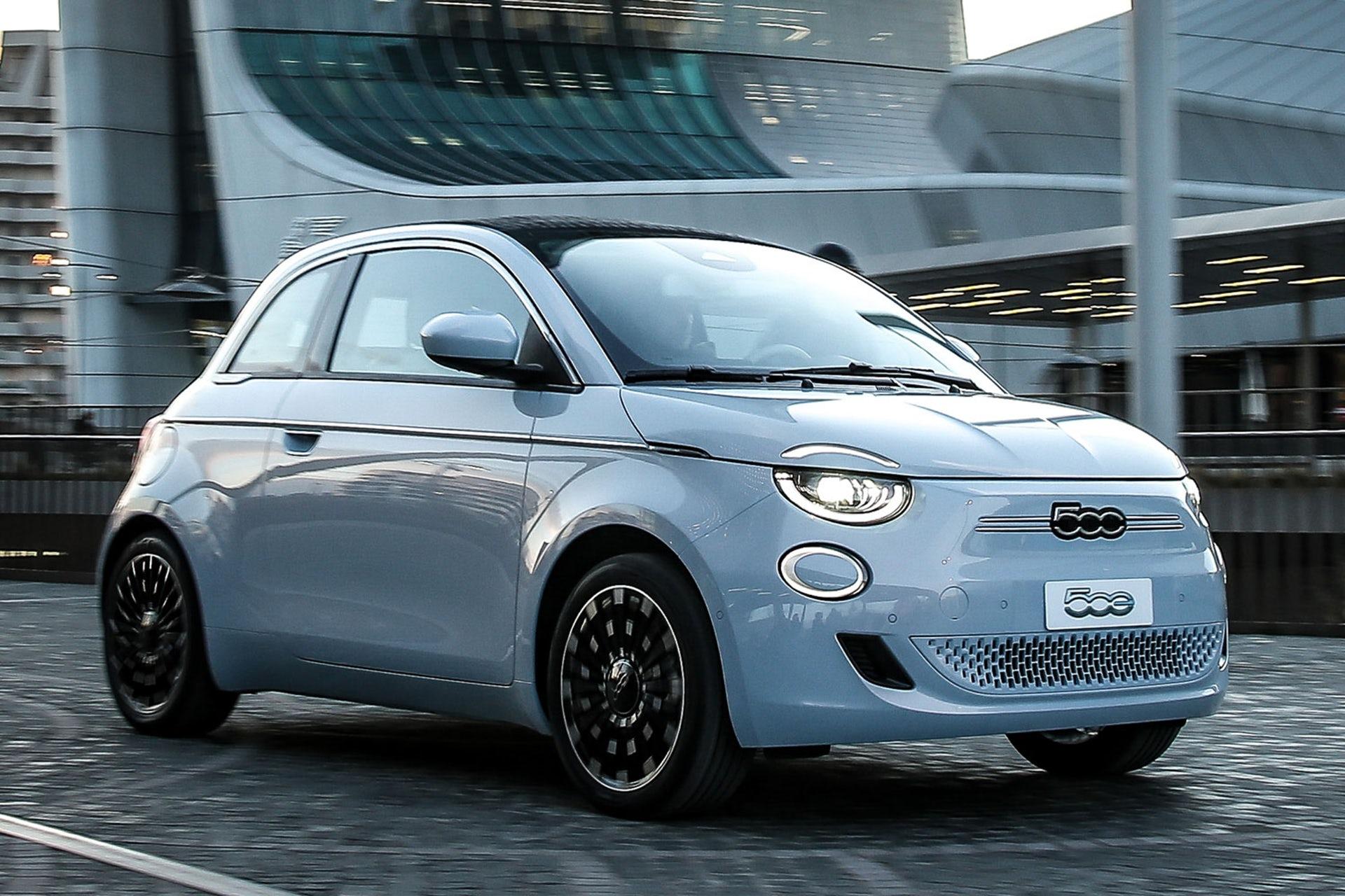 Fiat 500 EV La Prima