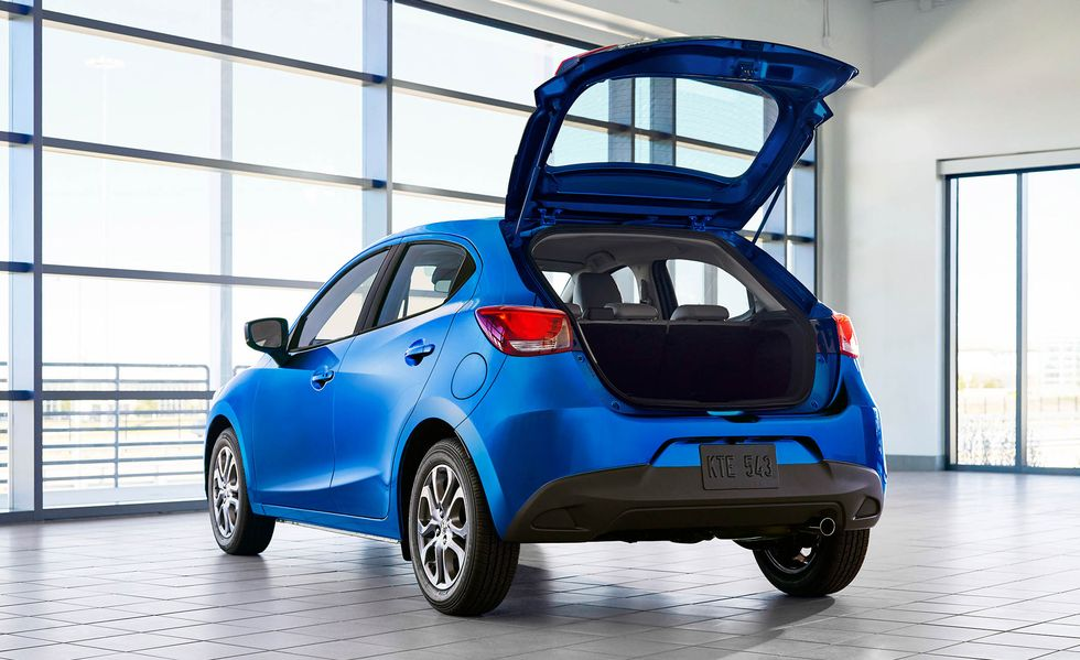 Yaris luggage space