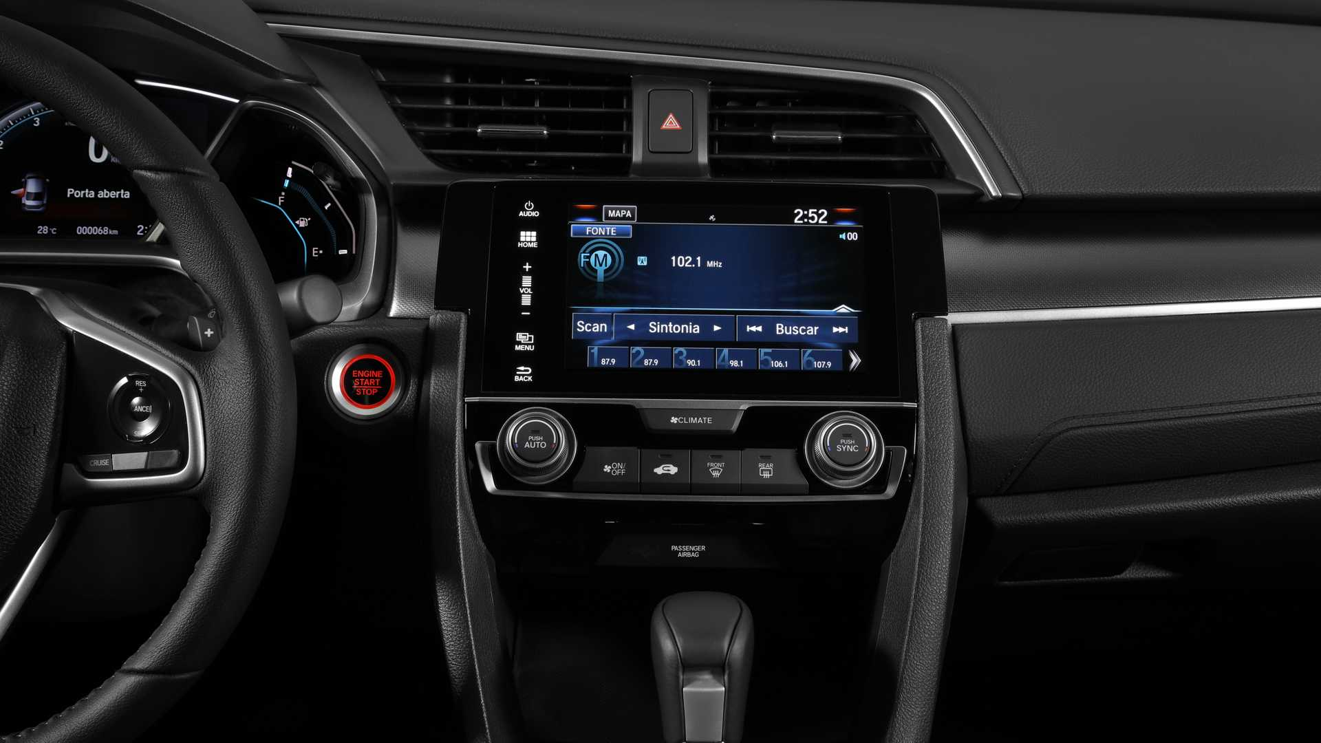 Honda Civic 2020 Interior