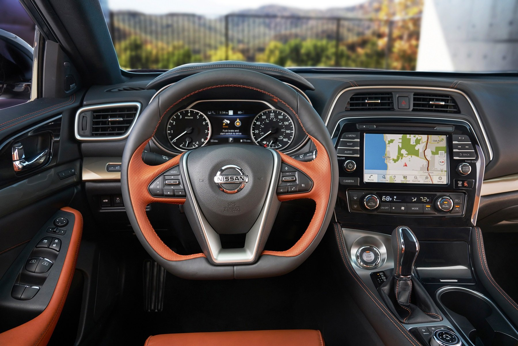 """The 2020 Nissan Maxima wins """"Middle East Car of the Year"""" Award 2020 within the large Sedan segment category as a premium sports sedan"""