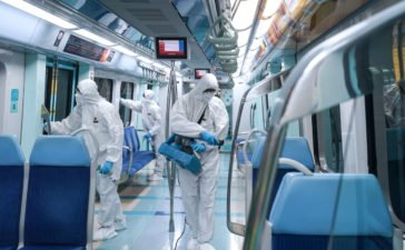 Dubai RTA has updated their service timings to 6 am to 8 pm inline with the disinfection program which will be conducted after to control the virus spread.