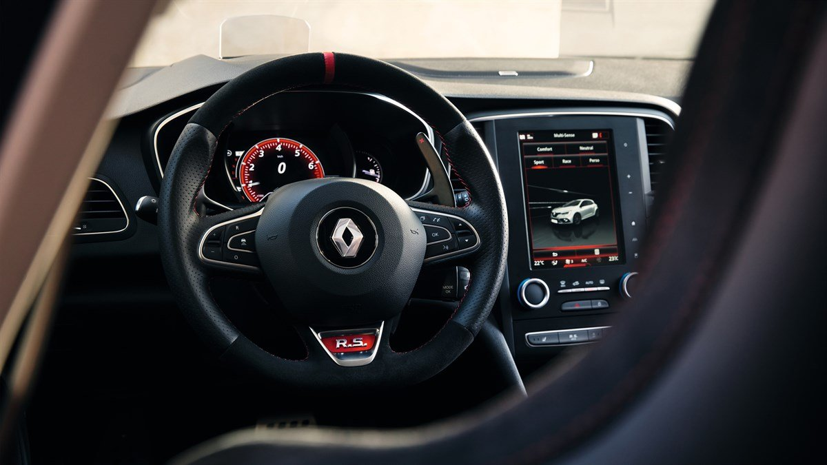 Renault Megane is a five-door 1.8-liter V-4 compact sedan in its 4th generation, apart from it flawless design its powerful and has an aggressive stance.