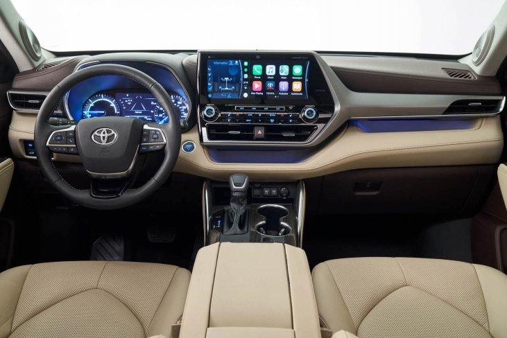 Toyota Highlander Hybrid Suv Launched In Uae Autodrift Ae