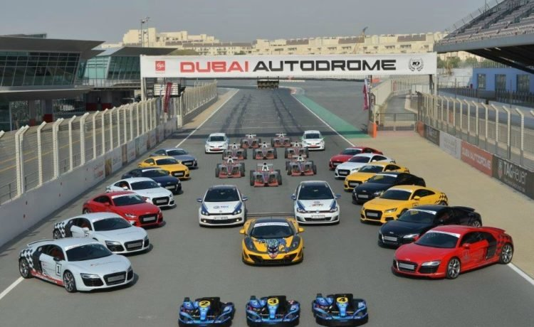 Dubai Autodrome has reopened their business for the throttle-lovers with some extra precaution and safety measures with temp check and sanitizing equipment