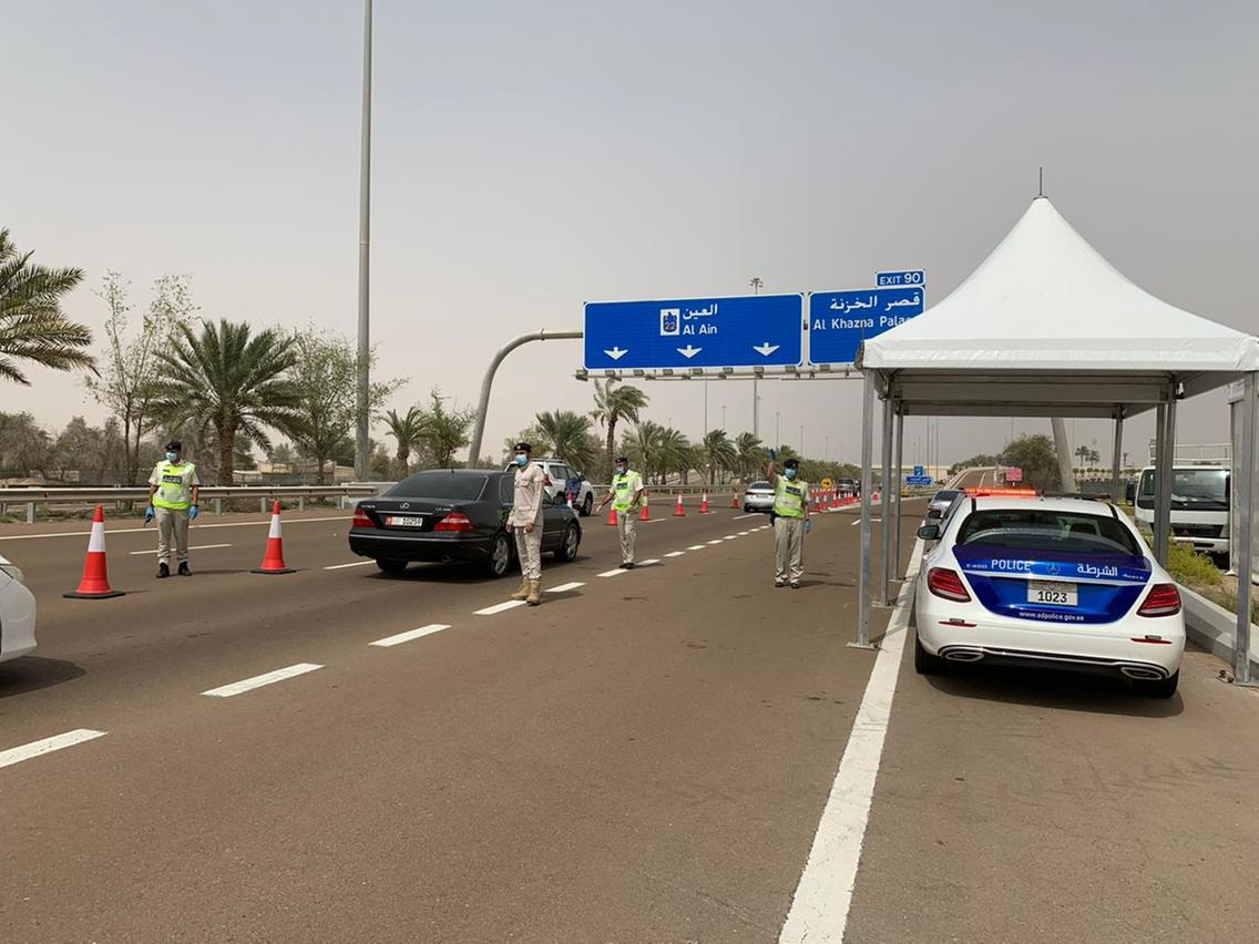 Abu Dhabi has revised its border security by asking traveler to get a medical permit before exiting the city as a safety and for a permit
