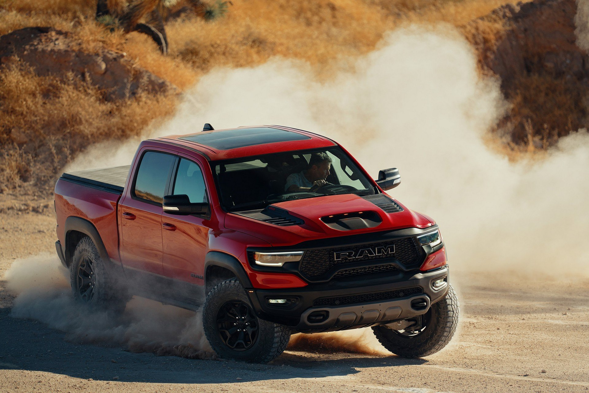 New Truck Prices >> 2021 Ram TRX goes Raptor hunting with 702 hp | AutoDrift.ae