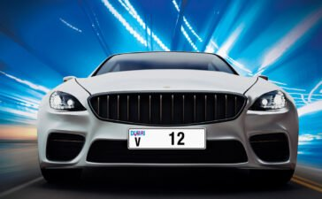 Dubai number plate auction