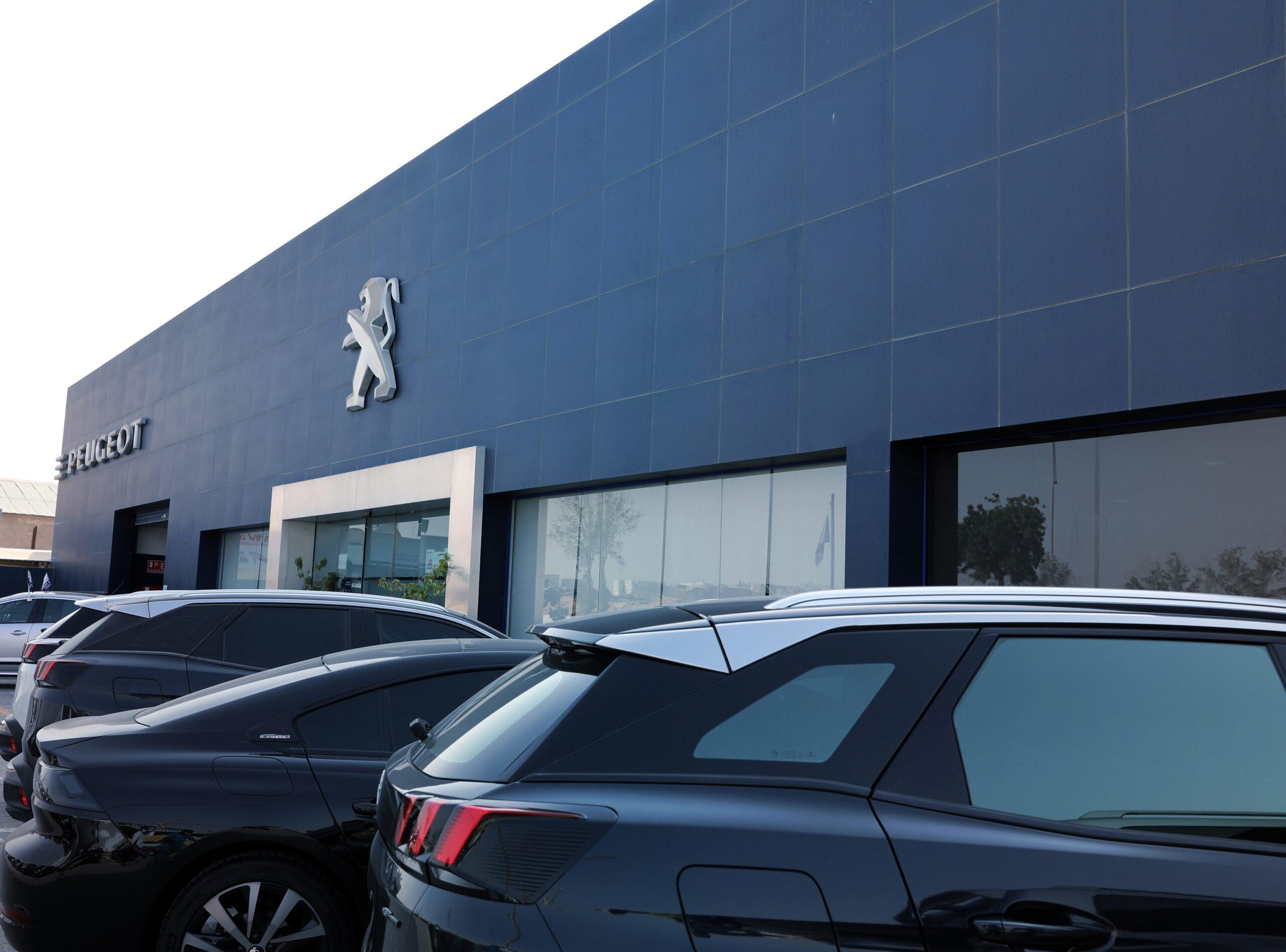 Peugeot service centre