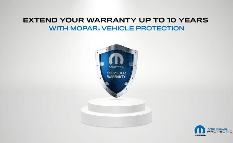 Mopar 10-year factory warranty