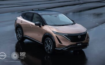 Nissan Ariya at Expo 2020 Dubai