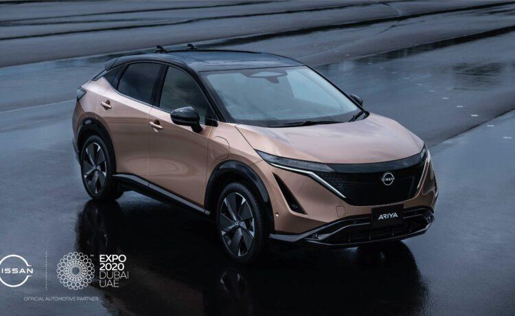 Nissan Ariya at Expo 2020 Dubai