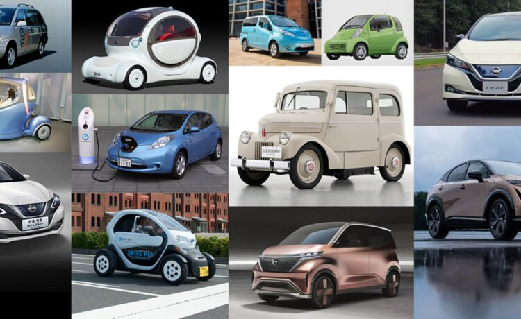 Electric Nissan cars