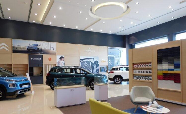 Citroen Showroom UAE
