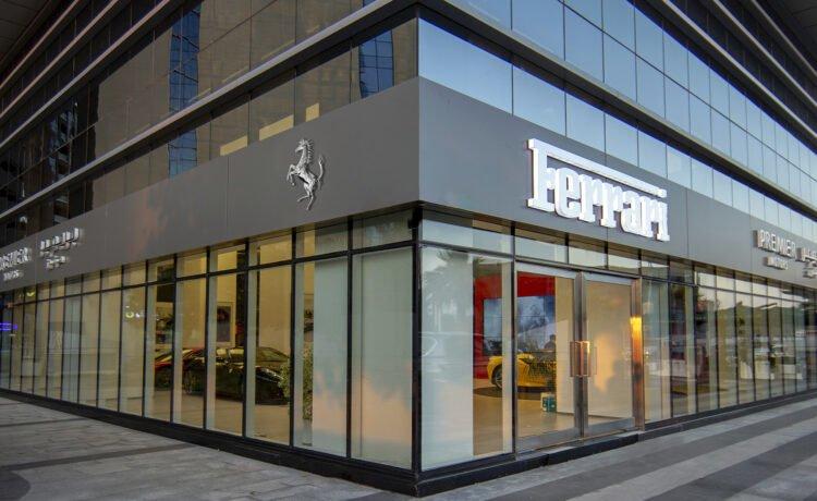 Ferrari Abu Dhabi showroom