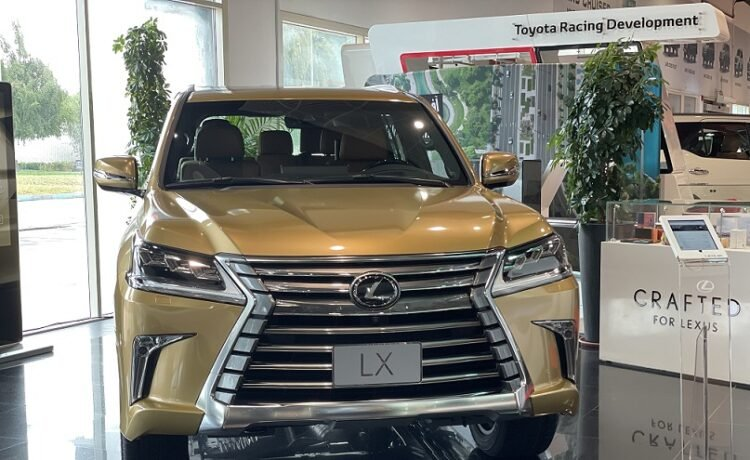 2021 LX 570 Gold Edition