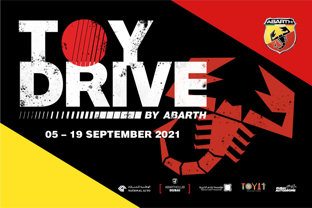 Abarth Toy donation