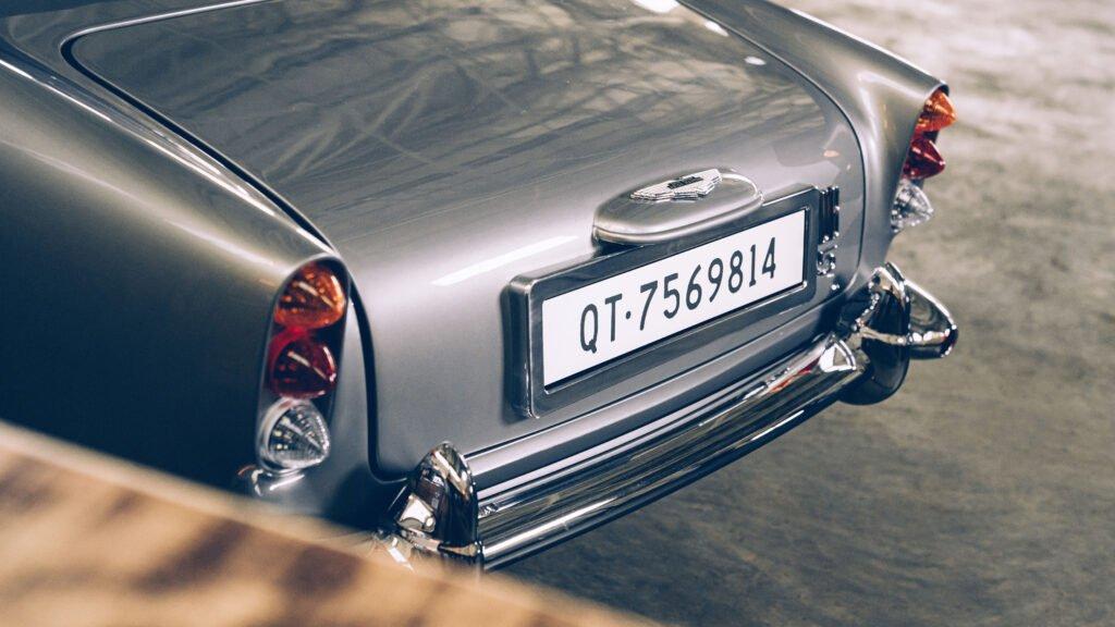 Aston Martin Trunk