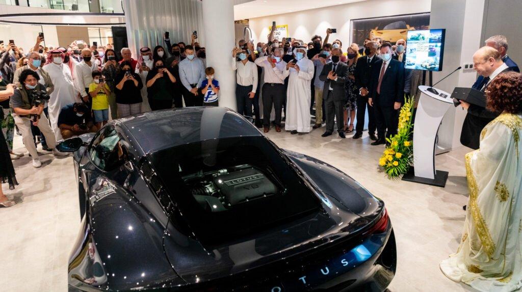 Lotus at the Bahrain Showroom