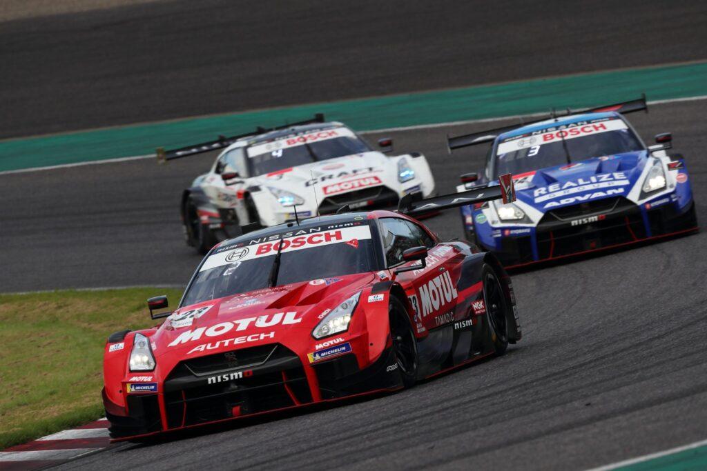Nissan leads at Suzuka