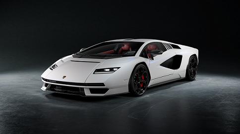 Pirelli and Lamborghini Countach