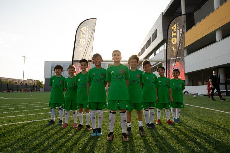 GTA Cars Dubai official sponsor of The Football Academy