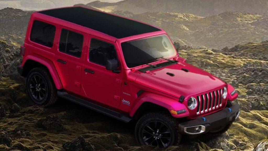 Jeep Wrangler Pink